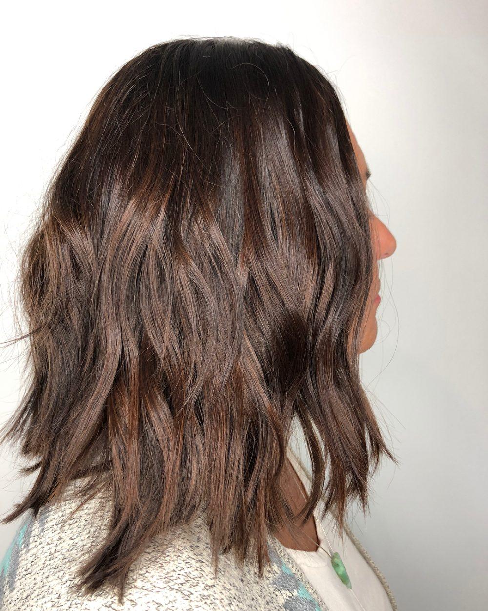 Fresh & Modern Balayage hairstyle