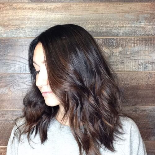 fresh effortless auburn hair color