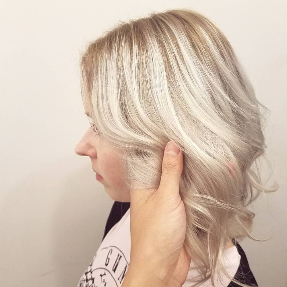 Frosty Blonde hairstyle