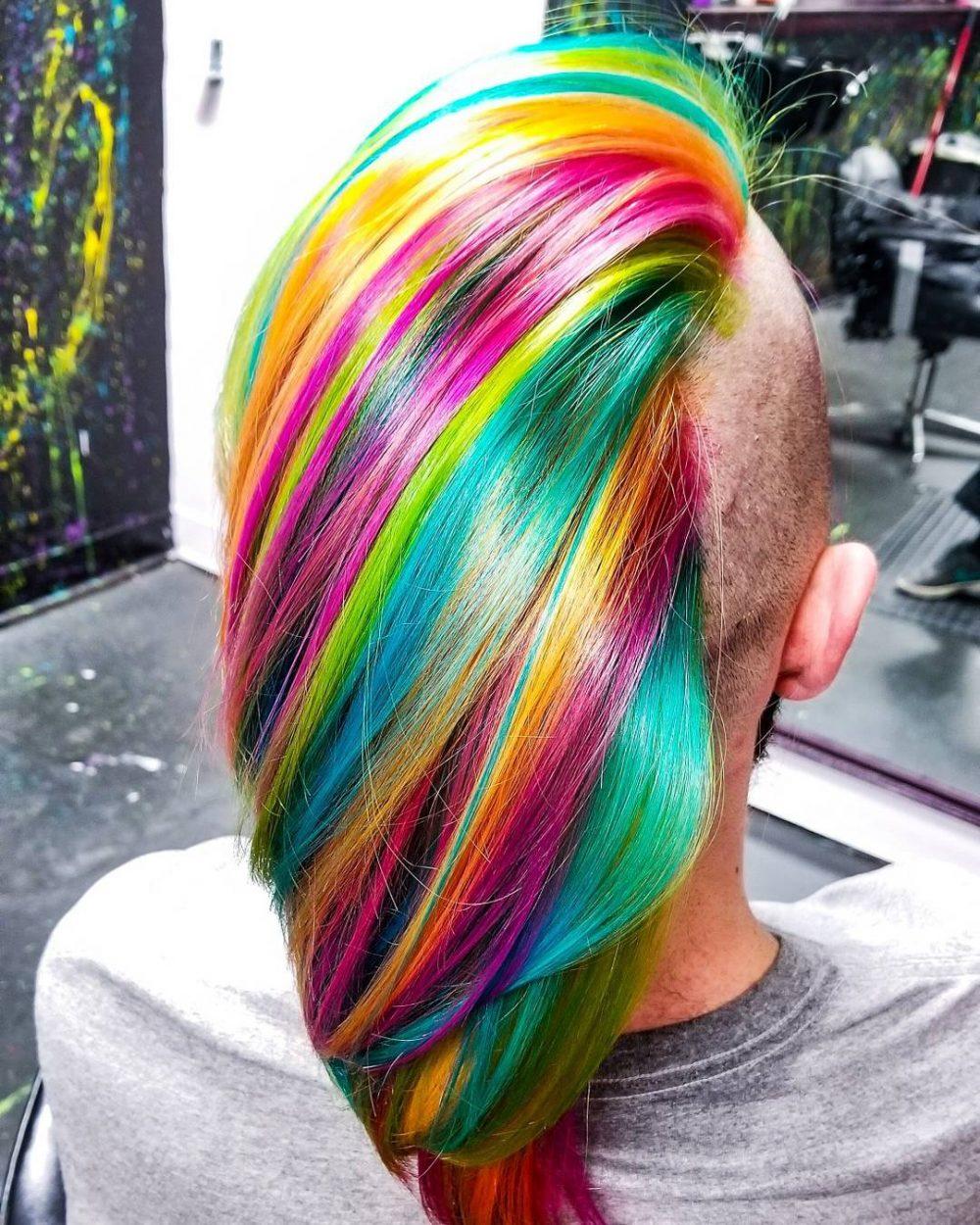 Fruit Stripe Gum hairstyle