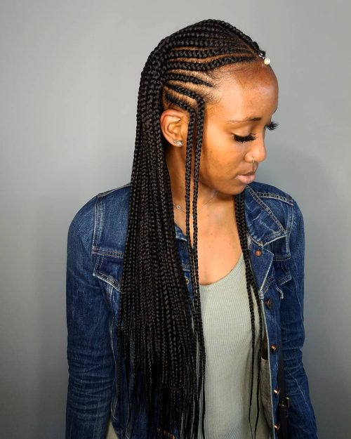 29 New Feed In Braids For 2019 2 3 4 5 6 Strands