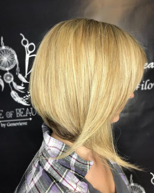 Fun Shoulder Length Blonde Hair