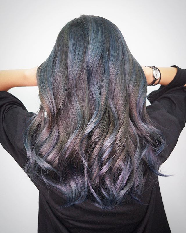 Galaxy Colors hairstyle