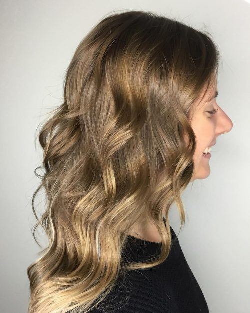 Picture of a gloss appeal dark blonde hair