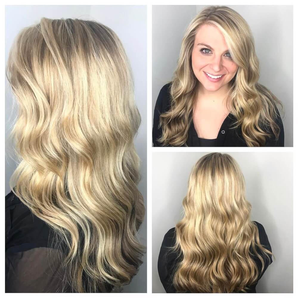 Modern Beach Blonde hairstyle