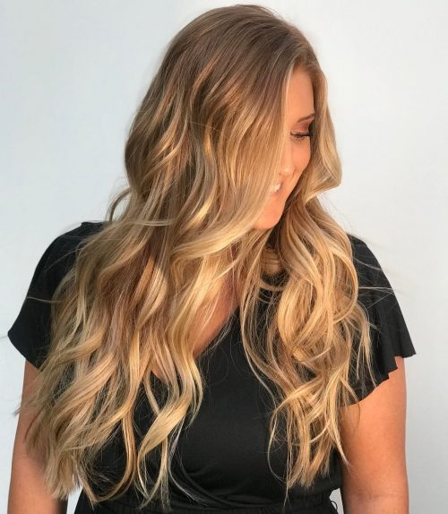 19 Prettiest Hair Highlights For Brown Red Blonde Hair In 2019