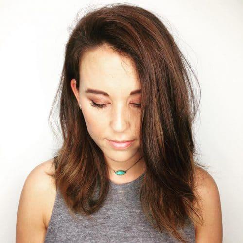Golden Natural Balayage hairstyle