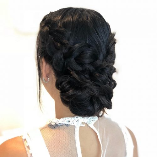 29 Gorgeous Braided Updo Ideas For 2019