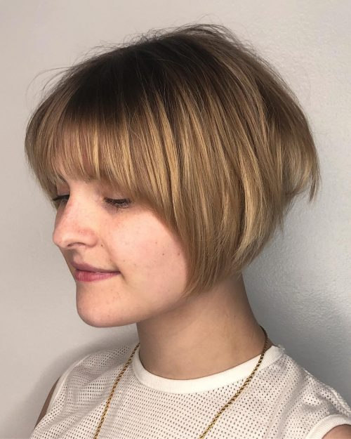 17 Hottest Short Bob With Bangs You Ll