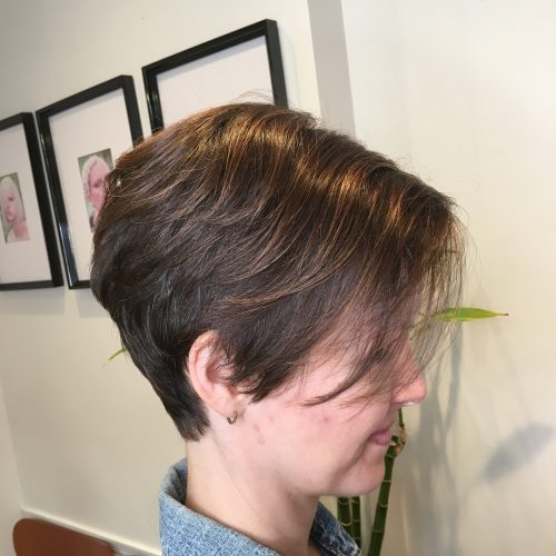 Graduated Layered Pixie Cut hairstyle