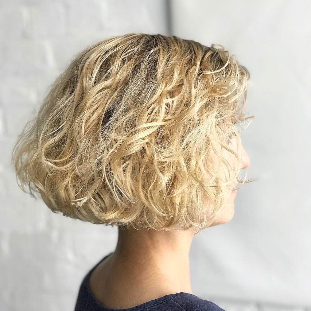 Grunge Effect Bob hairstyle