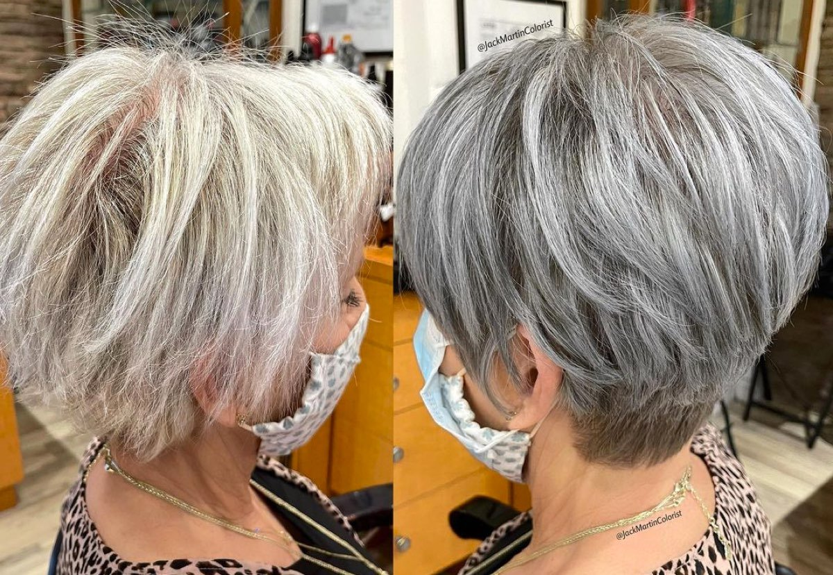 18 Volume Boosting Haircuts For Older Women With Thin Hair