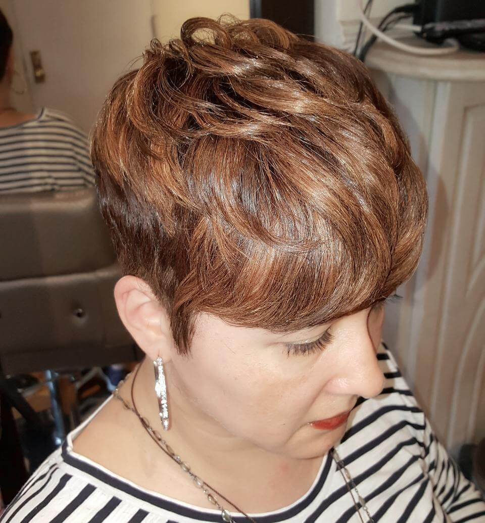 Trendy Pixie hairstyle