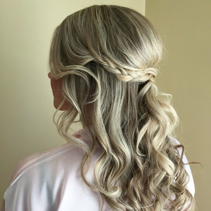 Half Up Boho Braid hairstyle