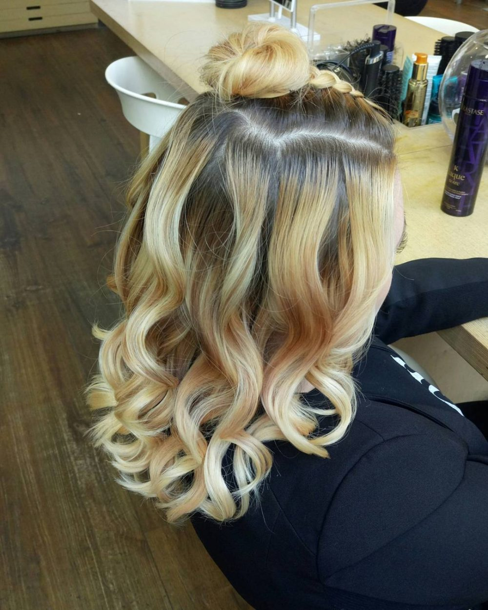 Half Up Dutch Braid hairstyle