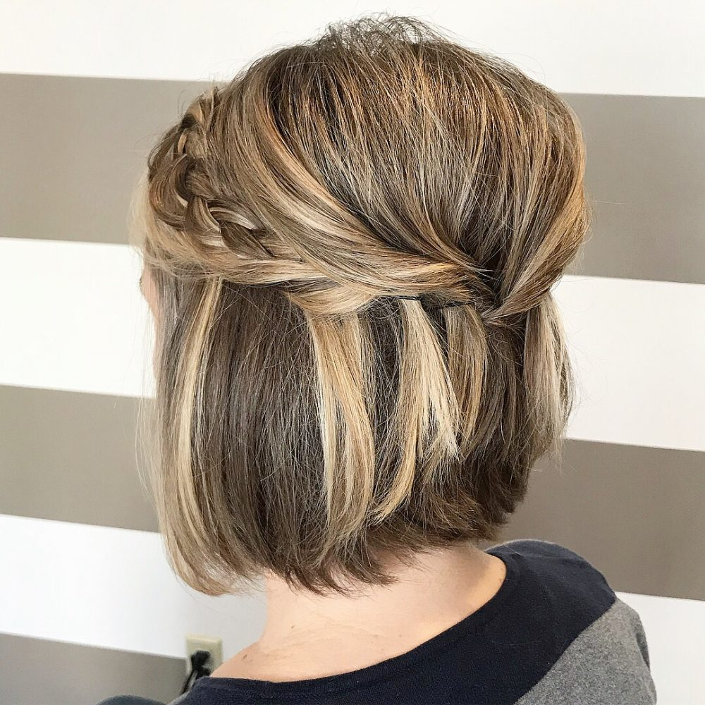 Wedding Hairstyle Upstyle: 28 Gorgeous Wedding Hairstyles For Short Hair This Year