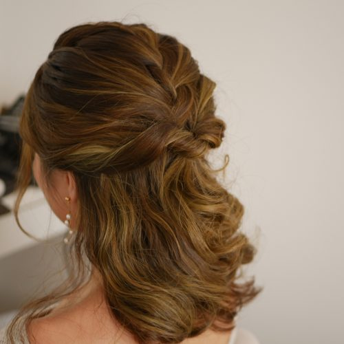 medium hair formal styles prom hairstyles for medium length hair pictures and how to s 3330