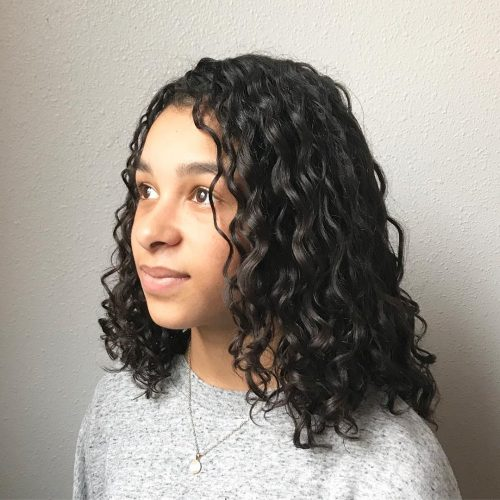 Picture of happy curls for girls with curly hair
