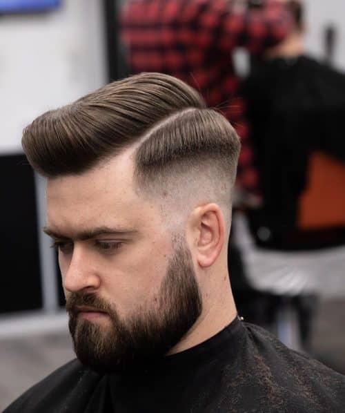 Corte de pelo del lado duro