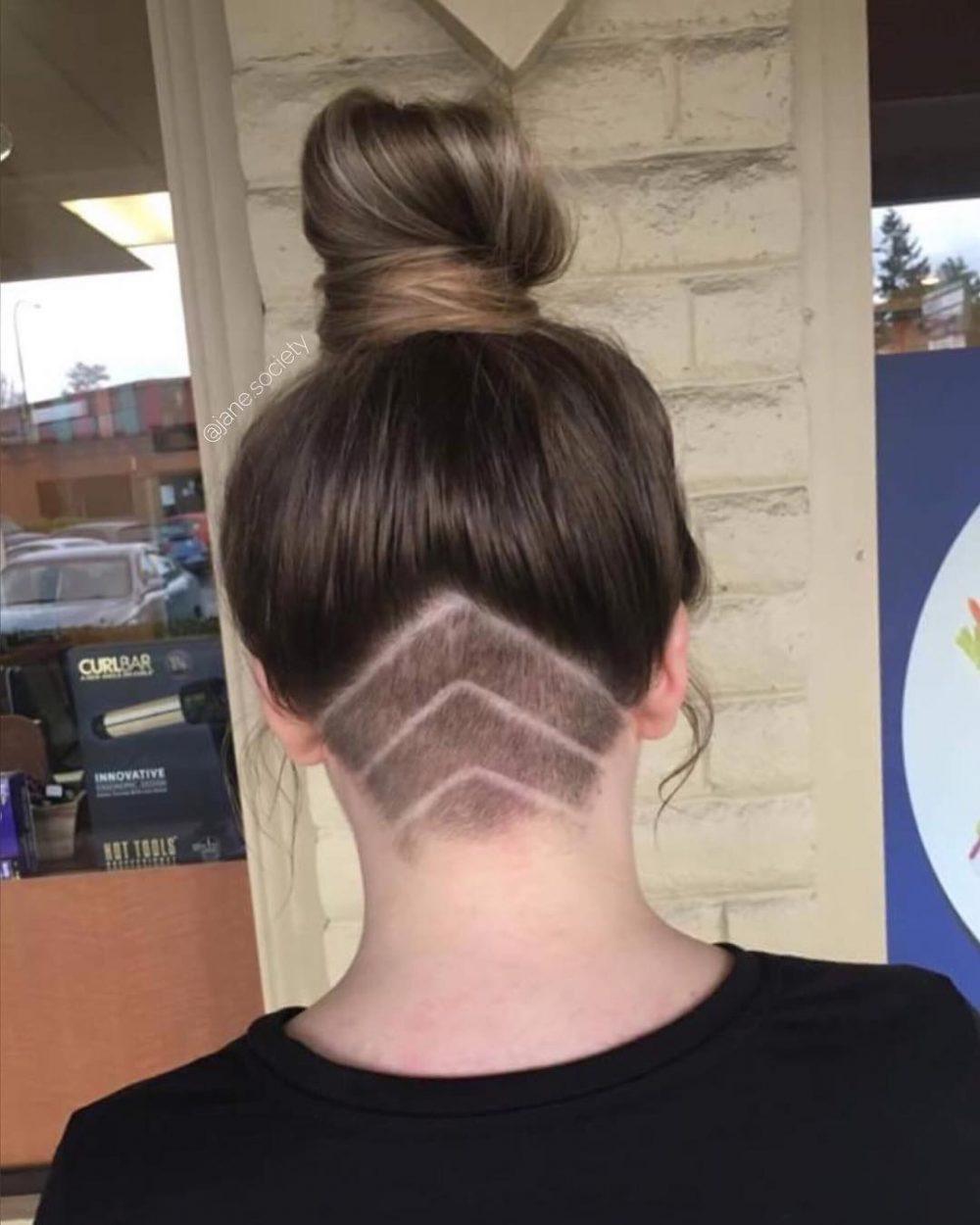 Head Turning Undercut hairstyle