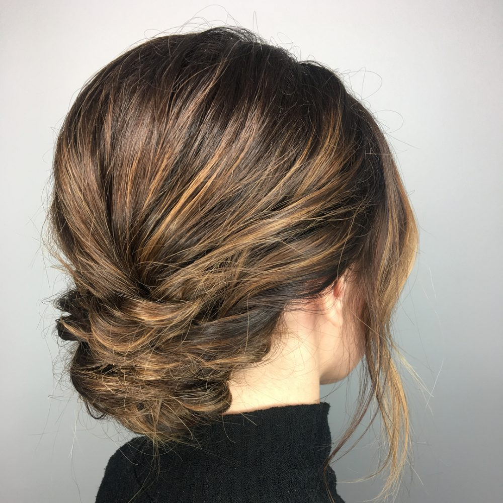 Heatless Modern Chignon hairstyle