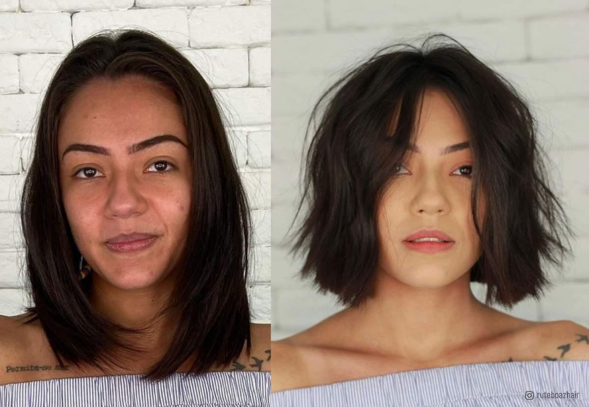 Hidden Taper hairstyle