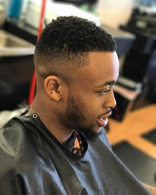 High And Cut Skin Fade With French Crop