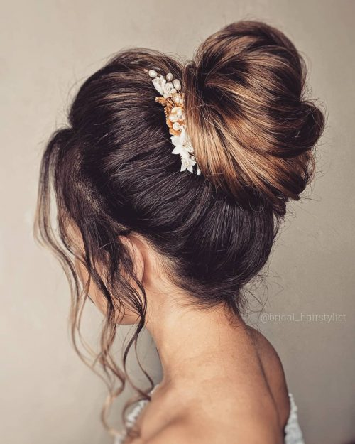 17 Gorgeous Wedding Updos For Every Type Of Bride