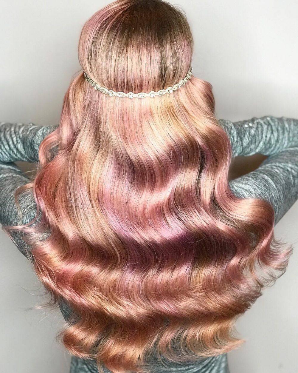 High Fashion Rose hairstyle