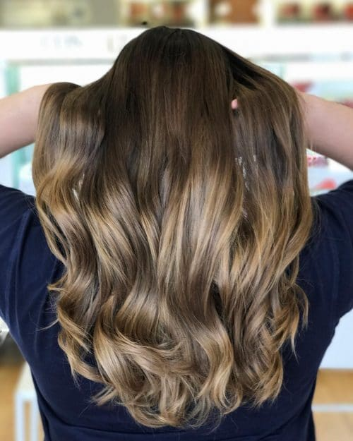 41 Incredible Dark Brown Hair With Highlights (Trending ...