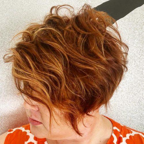 Honey auburn hair color