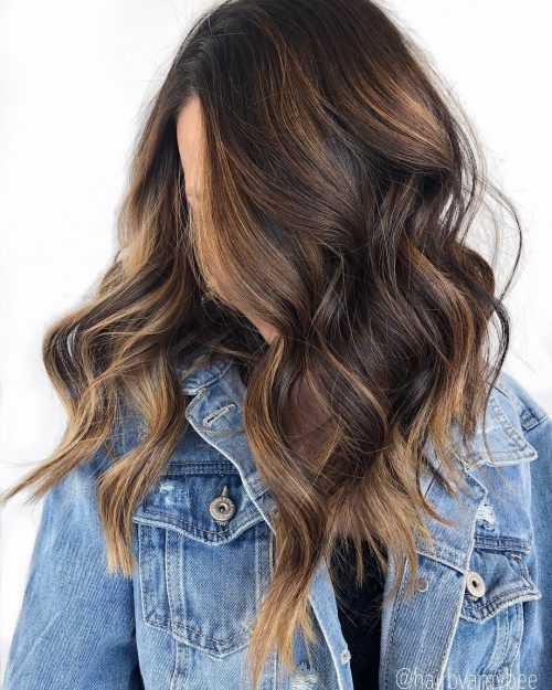 15 Balayage On Black Hair Ideas Trending In 2020