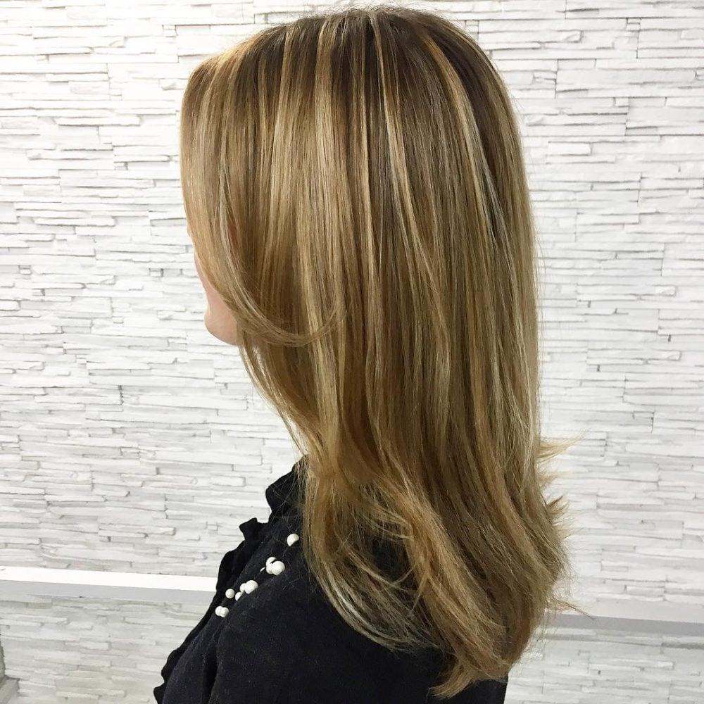 Honey Balayage hairstyle