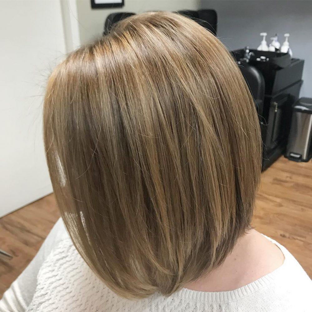 Honey Blonde Bob hairstyle