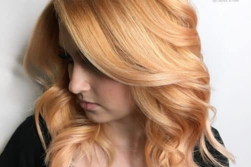 Honey blonde hair colors