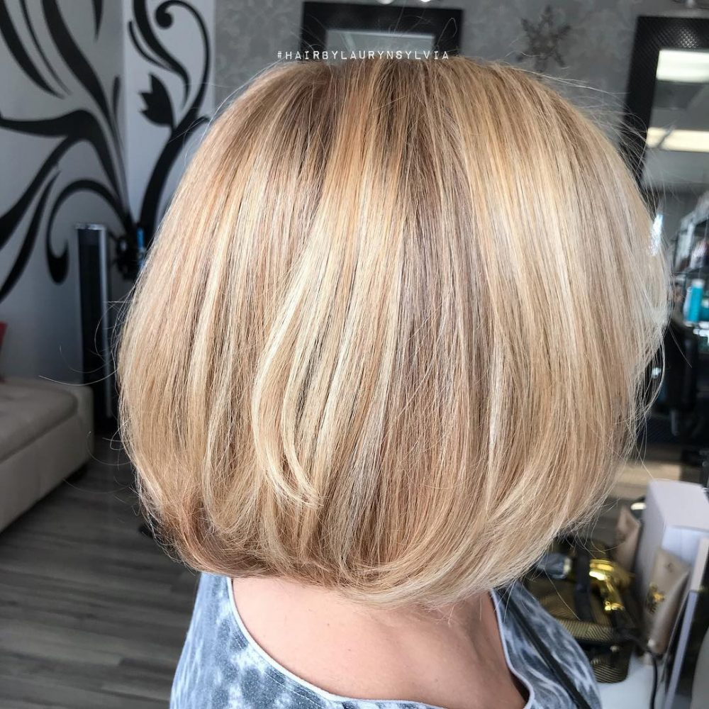 Honey Blonde Layers hairstyle