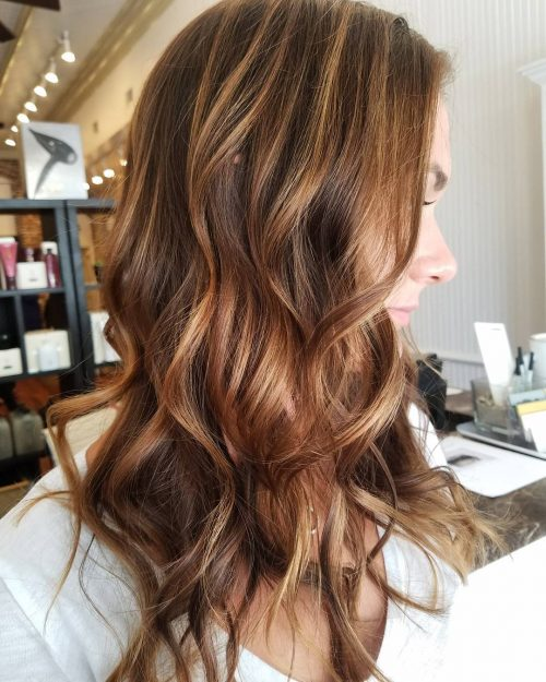 These 17 Caramel Hair Colors Are Trending for 2021
