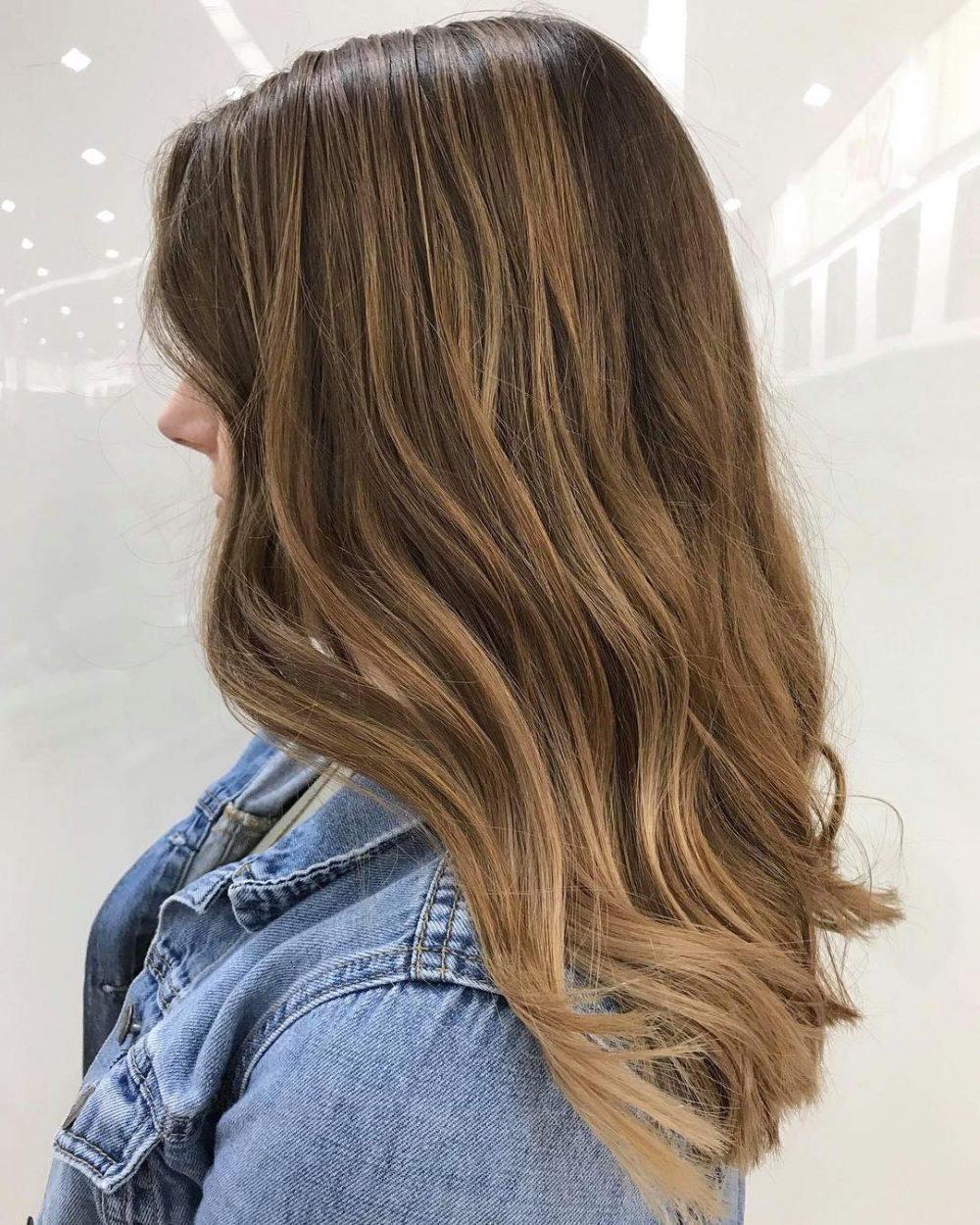 Honey-Toned Balayage hairstyle