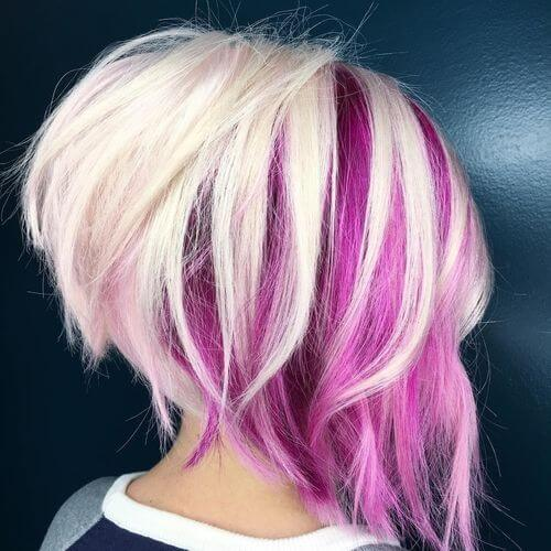 hot-pink-streaks-in-hair
