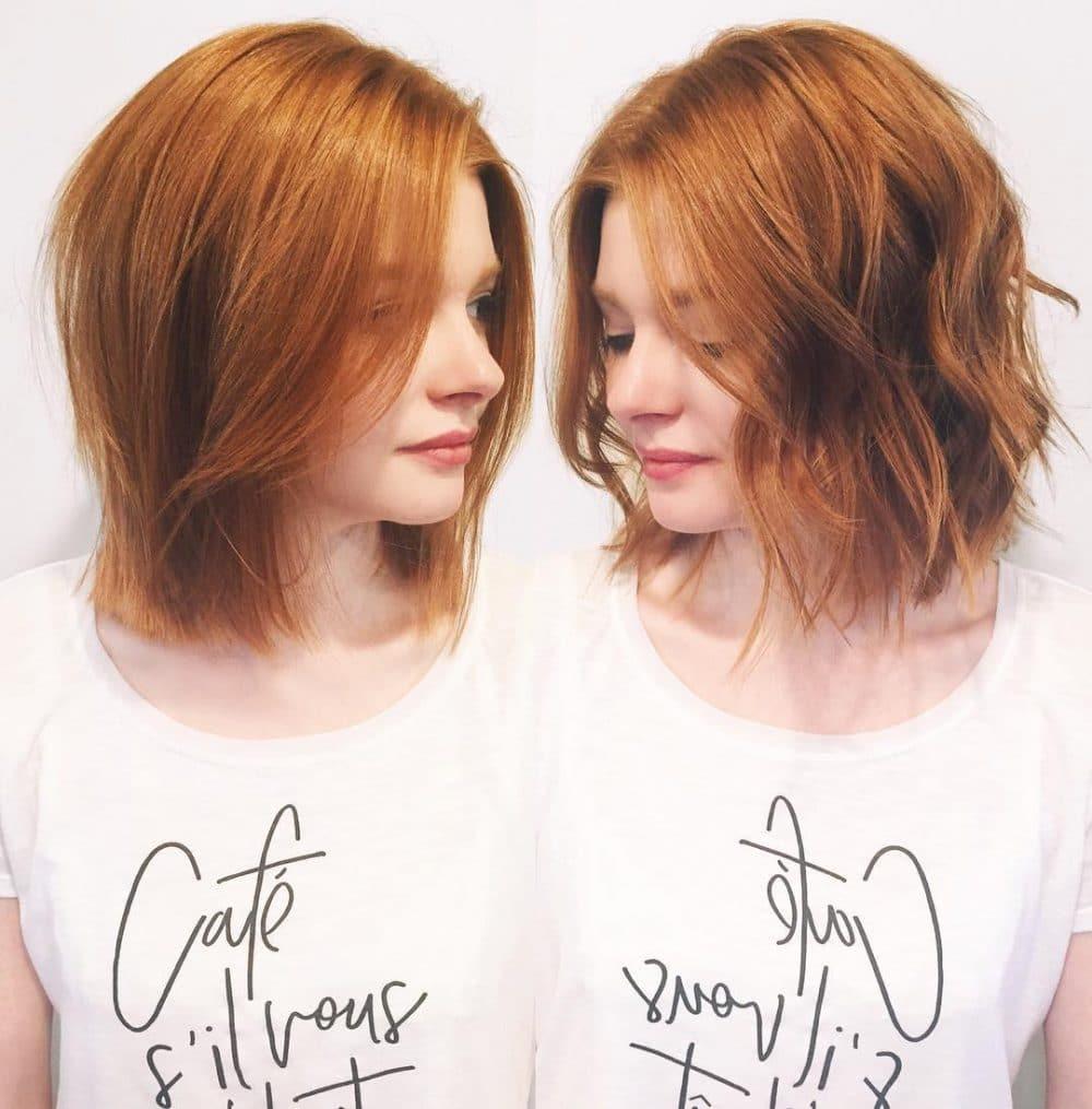 Iconic Shag hairstyle
