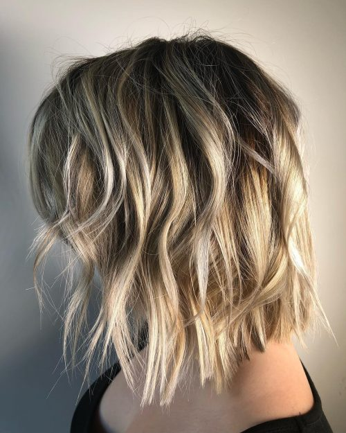 Picture of incredibly textured bob
