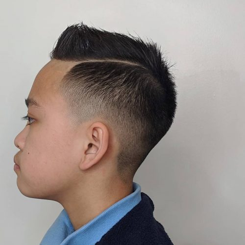 28 Coolest Boys Haircuts For School In 2021