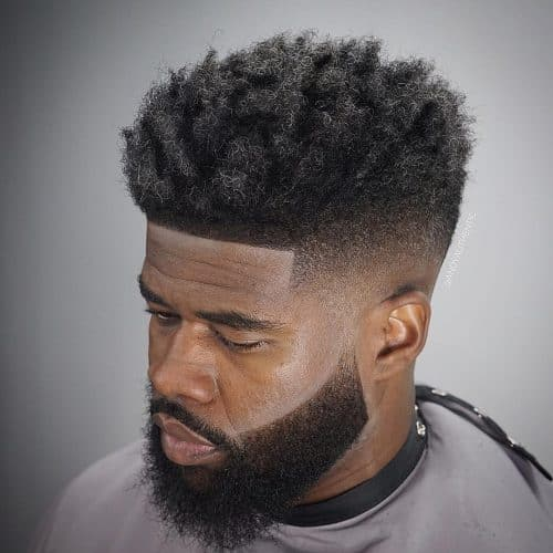 The Top 12 High Top Fade Black Hairstyles For 2020