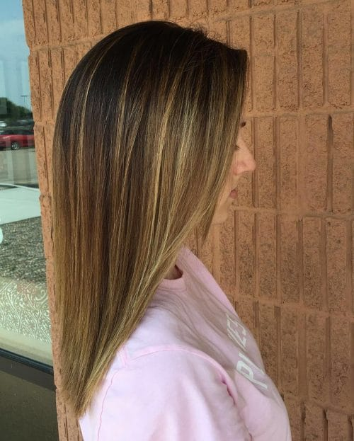 Kissed By The Sun Balayage hairstyle