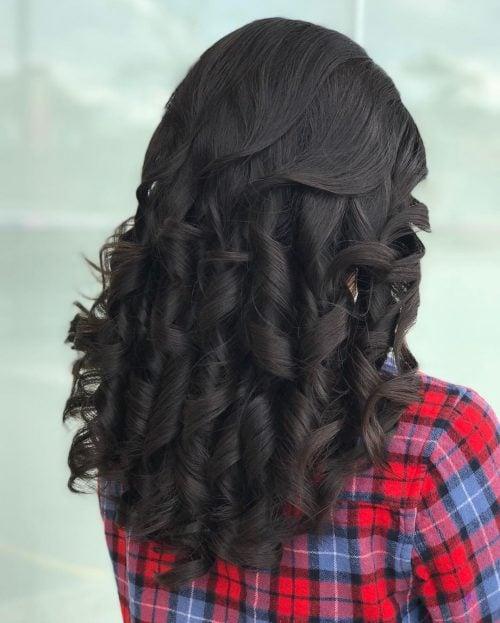 Excelente permanente para cabello largo.