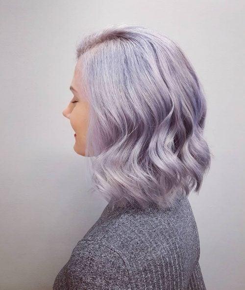 Pastel Lavender Locks