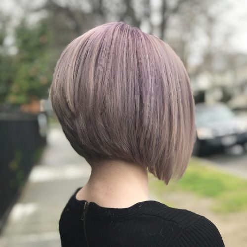Picture of a lavender precision beautiful hair