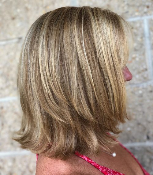 15 Youthful Medium Length Hairstyles For Women Over 50