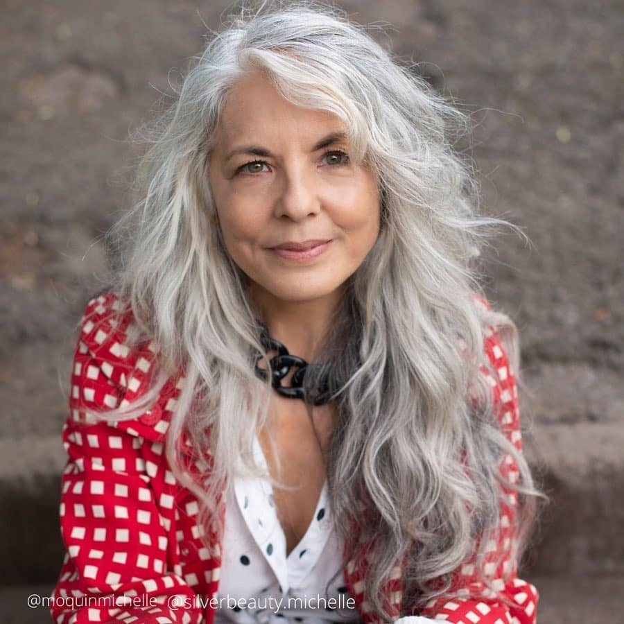 layered hair for women over 50