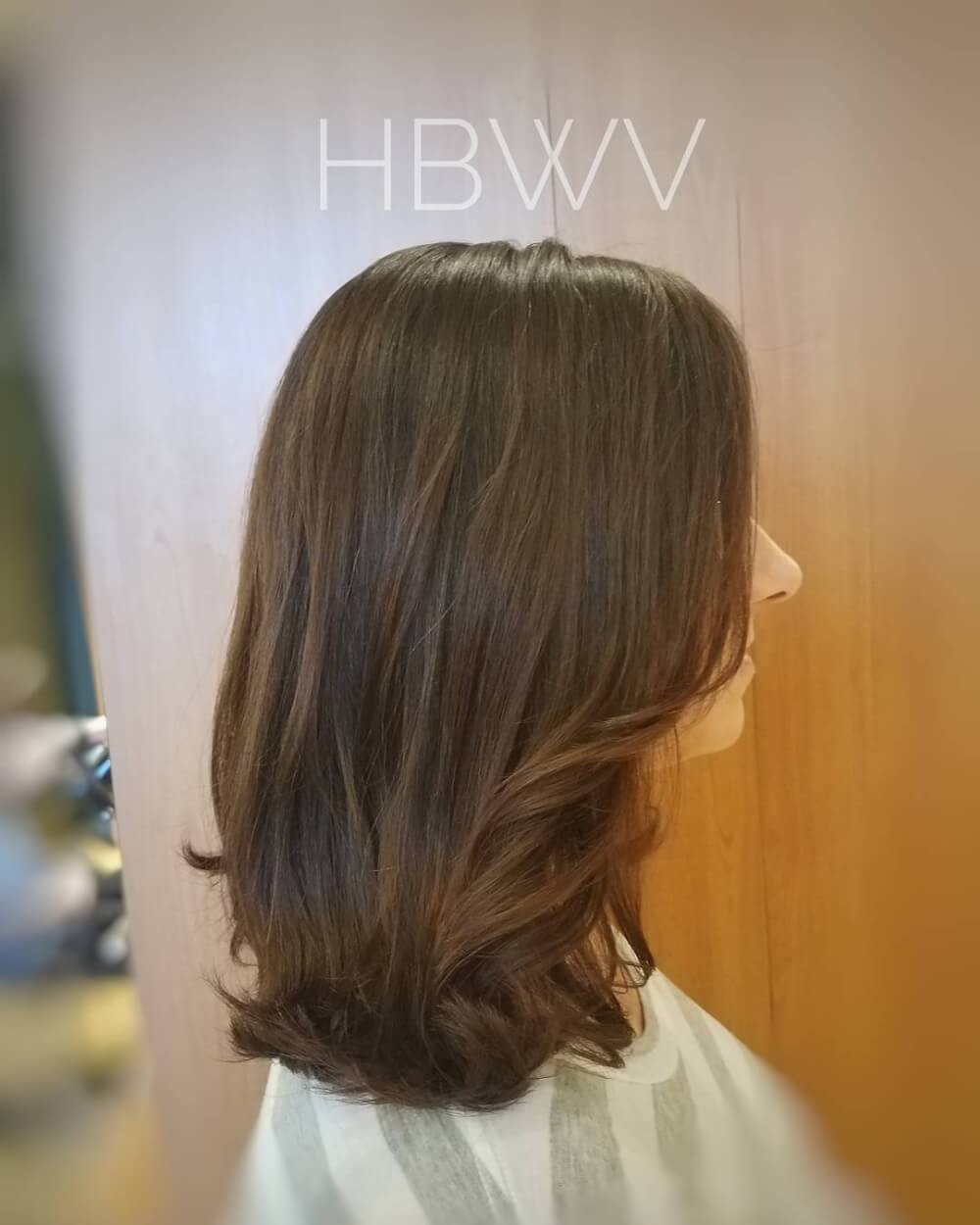 Effortless Lob hairstyle